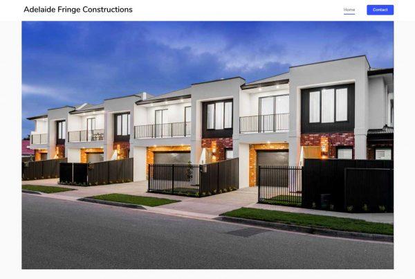Adelaide Fringe Constructions